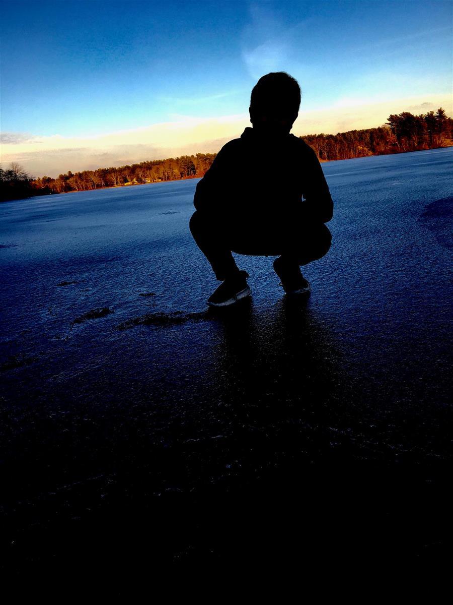 Mystery Man On Ice