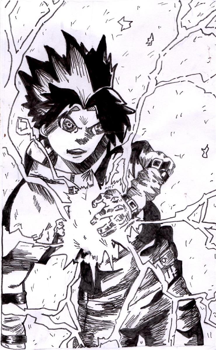 Lightning blade sketch