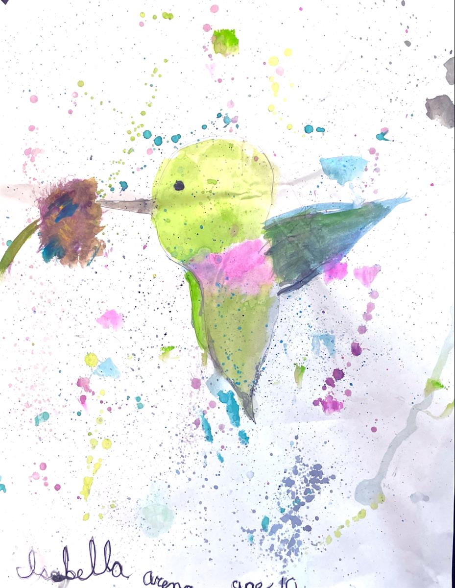 The Hummingbird's Dream - 1st Place - Grades4-6