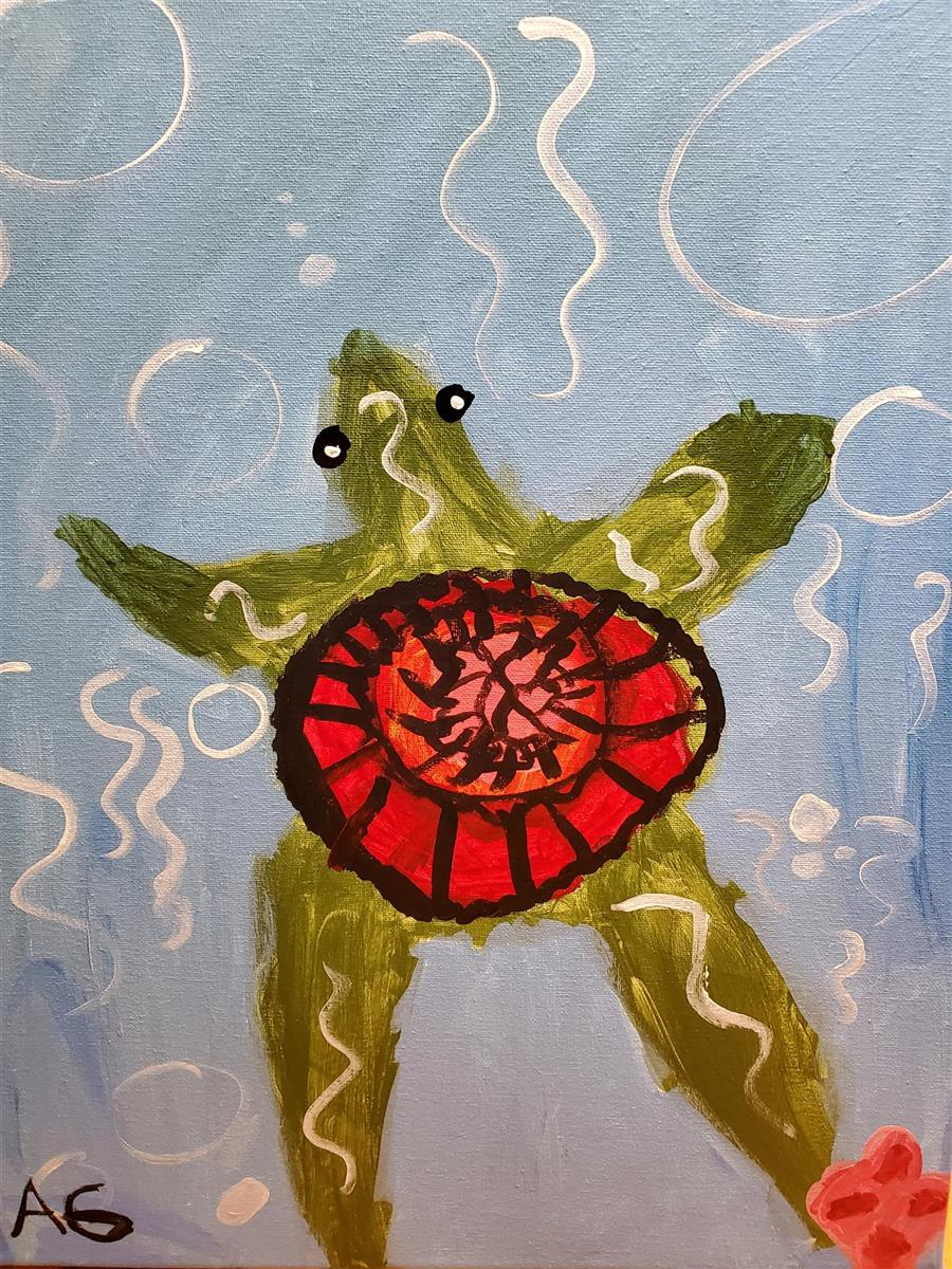 Yurtle the Turtle - Honorable Mention