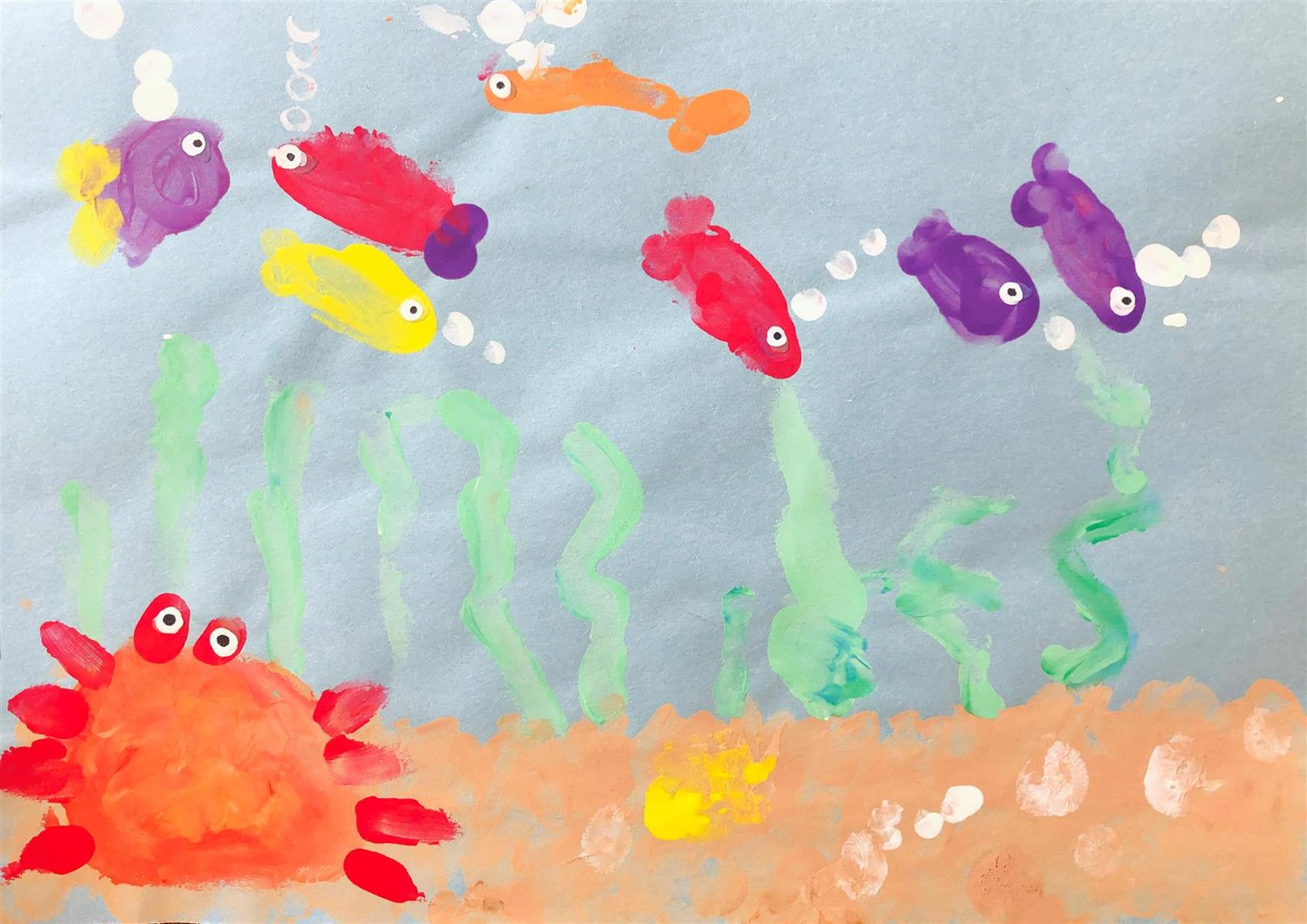 Under the Sea  - 2nd Place - PreK-K