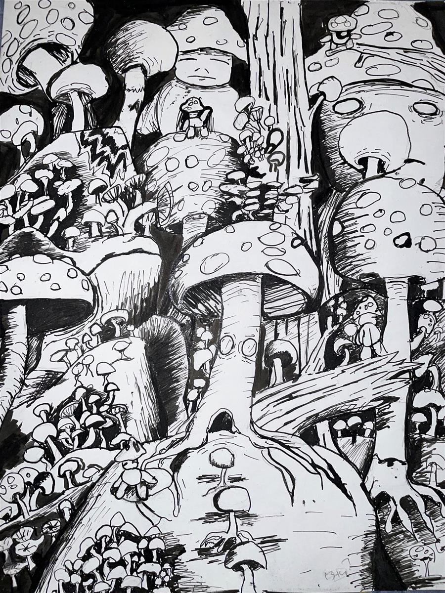 Night shroom - Honorable Mention - Grades10-12