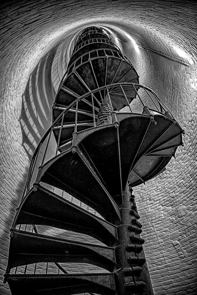 Cape Florida  Light house stairs