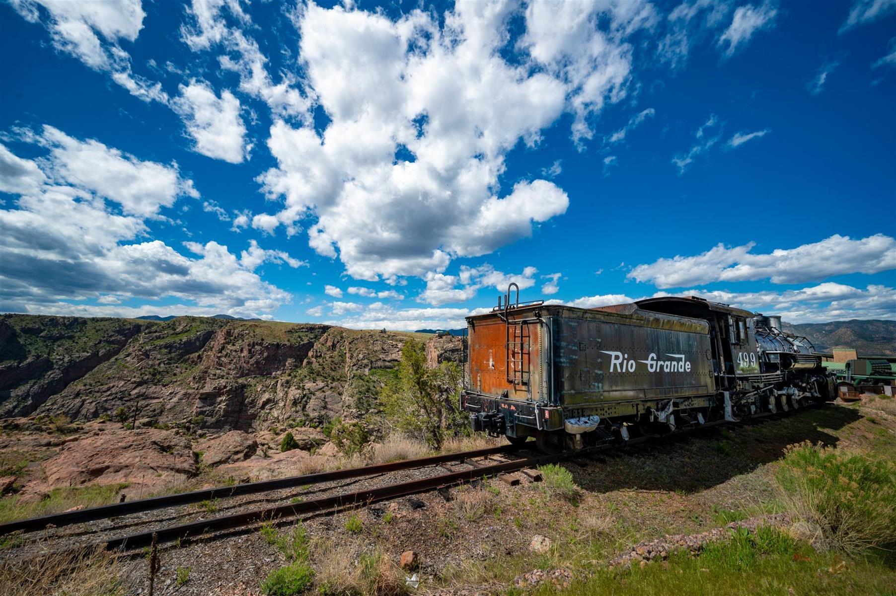 Royal Gorge Train Caboose 0584